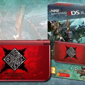 Nintendo New 3DS XL Limited Edition + Monster Hunter: Generations
